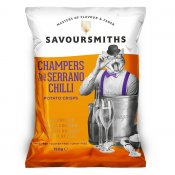 Savoursmiths - champagne and serrano chili chips