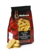 Shortbread Mini Fingers Walkers 125 gram