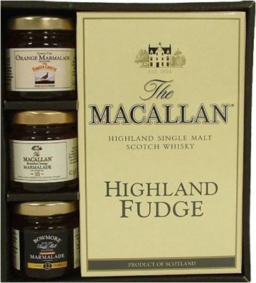 Whiskymarmelad & fudge