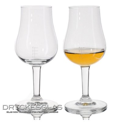 Porto Whiskyglas 1-4 cl markering 13 cl
