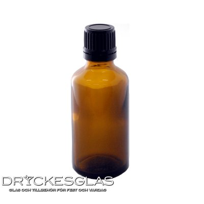 Sample Bottle 5 cl med kork