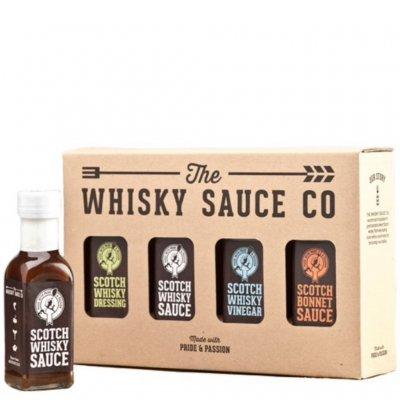 Whiskysåser 4-pack Whisky Sauce Co